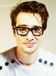 Brandon Urie from Panic! At The Disco.Is it bad if I have been a P!ATD fan since 2005 and can't say his last name??