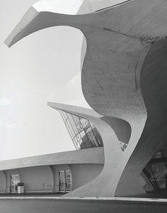 Trans World Airlines (TWA) Terminal, JFK Airport, New York, New York, USA, 1962 by Eero Saarinen and Associates