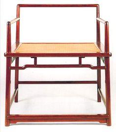 Meditation Chair (in huang-hua-li, 17th century)