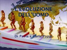 L'EVOLUZIONE DELL'UOMO Di Paola e Carla Poppi