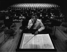 Leonard Bernstein, American Conductor,1968 Arnold Newman's Incredible Artist Portraits (25 photos) - My Modern Metropolis