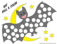 Bat rhyming game - - Re-pinned by @PediaStaff – Please Visit http://ht.ly/63sNt for all our pediatric therapy pins