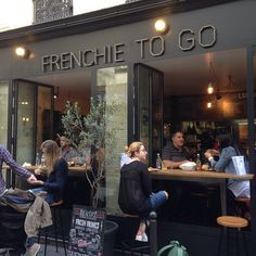 Heaven on earth!  Frenchie's To Go.  #paris @gregorymarchand #lunch #fun