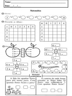 Mental Maths Worksheets, Preschool Activities, Preschool Curriculum, Homeschool Math, Algebra, Math For Kids, Math Lessons, Teaching Kids, Coloring Pages