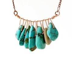 turquoise AND this time with gold.  Silver is what I like...but they do have beautiful things in gold too!