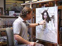 Morgan Weistling Art | in the studio with morgan weistling part 2 artist morgan weistling lvp ...