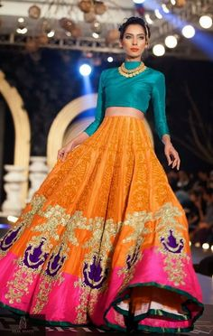 High Waisted Lehenga's – A New Wave of Design…