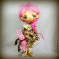 """Коллекционная текстильная кукла """"Лизонька"""", $74"""