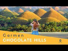 The Chocolate Hills in Carmen (Bohol, Philippines) - YouTube Chocolate Hills, Bohol Philippines, The Incredibles, Island, Nature, Youtube, Naturaleza, Islands, Nature Illustration