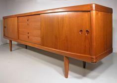 Hayloft Mid Century: Bramin teak sideboard by H. W. Klein, 1960's, Denmark