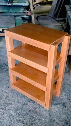 Amazing Stereo Stand & Rack for Sale - Ideas on Foter Small Space Office, Office Space Design, Woodworking Plans, Woodworking Projects, Diy Projects, Audio Stand, Audio Rack, Hifi Audio, Closet Doors