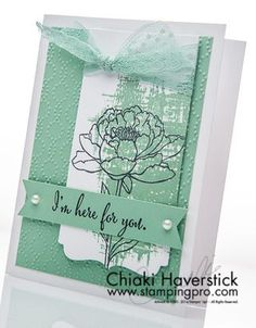 June Stamp-A-Stack #3: Razzleberry Blossom   StampingPro.com   Bloglovin'