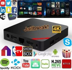 Android TV Box fully loaded that lets you stream the latest Movies, TV shows, Live TV, Sports, and PPV all for free.  #Android #Firestick #Amazon #Movies #Kodi