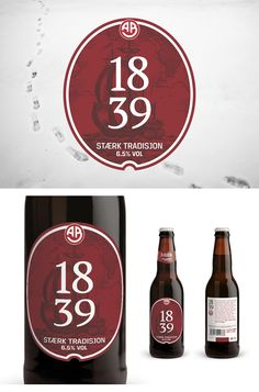 Beer Label for Arendals Bryggeri