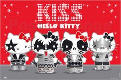 """Hello Kitty Kiss - Band"""