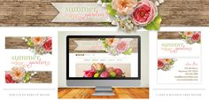 Avalon Rose Design - Feminine Vintage Website Designs