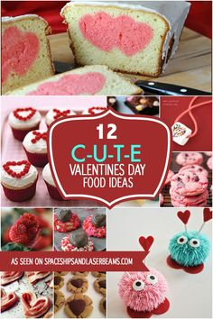 12 Cute Valentine's Food Ideas - Spaceships and Laser Beams