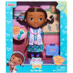 Doc McStuffins Specialist Doll, Pet Vet