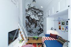 Kids bedroom in Lipetsk by Geometrium