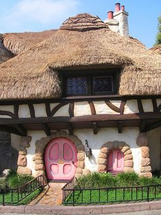 white rabbit's house
