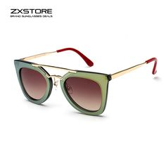 #Italian #Brand #Luxury Brand Green #Vintage #Sunglasses #Women #DIY #Sale #Hot #Summer #Cool #2016