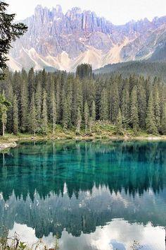 ✯ Latemar and Lake of Carezza - Dolomites - Italy