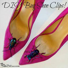Make It Monday:  DIY Bug Shoe Clips