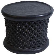 african round modern spider table