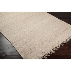 Hand-woven Natural Fiber Natural Fiber Jute Bleached Rug | Overstock.com Shopping - The Best Deals on 7x9 - 10x14 Rugs