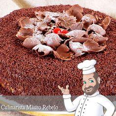 Bolo de Brigadeiro do Culinarista Mauro Rebelo