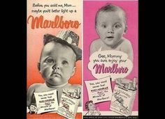This Marlboro ad uses cute babies to advertise cigarettes, because why not?