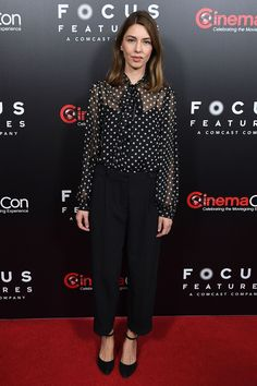 Sofia Coppola in Marc Jacobs - CinemaCon 2017, Las Vegas - March 29 2017