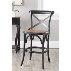 Special Offers - Safavieh American Homes Collection Eleanor Counter Stool Hickory - In stock & Free Shipping. You can save more money! Check It (May 10 2016 at 02:34PM) >> http://sofaarmchairusa.net/safavieh-american-homes-collection-eleanor-counter-stool-hickory/