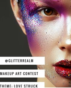 TAG A FRIEND WHO SHOULD ENTER! Hi Beauties! our monthly makeup art challenge is here! Ready to get creative?  February's theme is LOVE STRUCK. To enter your artwork upload you new creations on theme and tag us @glitterrealm and use the hashtags #365daysofglitter and #glitterrealmmakeupchallenge Make as many artistic beauty looks inspired by love and being love struck.  Rules:  Must be following us on instagram: @glitterrealm  Must be following us on Facebook: http://ift.tt/2kkuQ9O Must…