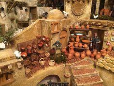 Christmas Village Display, Ceramic Houses, Belem, Bethlehem, Case, Dollhouses, Old And New, Animal Crossing, Egyptian