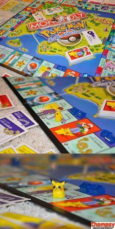 Poke'mon Monopoly?? Do want! :3