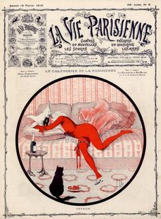 Louis Vallet. La Vie Parisienne, 19  Février 1910. [Pinned 14-vii-2015]