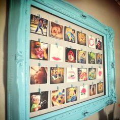 Empty frame Gallery Wall Idea