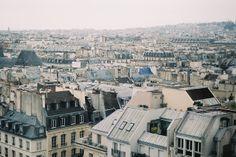 Rooftops of Paris.