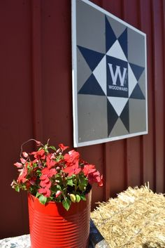 How to create a modern barn quilt.