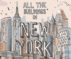 All The Buildings In New York || This project stems from an interest in obsession and recording of places. Click image for more