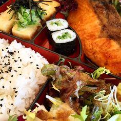 Salmon Teriyaki Bento @ eat Tokyo, London (Japanese Food)