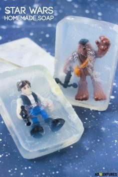 Totally Awesome Homemade Star Wars Soap