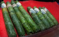 Medical grade wrapped with cannabis leaves.