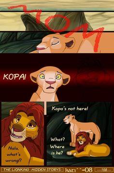 tlk -hs- page 108 by kati-kopa on DeviantArt Lion King Story, Lion King Fan Art, Hakuna Matata, Disney Marvel, Disney Pixar, Lion King Quotes, Lion King Drawings, Disney Theory, Simba And Nala