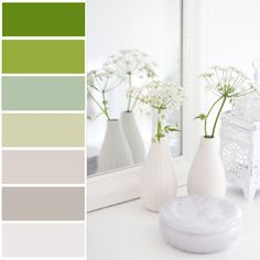 Greens and greys