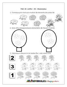Un blog ce cuprinde planse de colorat si fise de lucru pentru copii. Acest blog vine ca un ajutor in intampinarea cadrelor didactice. Kindergarten Sorting Activities, Coloring Worksheets For Kindergarten, Preschool Number Worksheets, Kids Math Worksheets, Numbers Preschool, Learning Numbers, Math Numbers, Preschool Printables, Preschool Math
