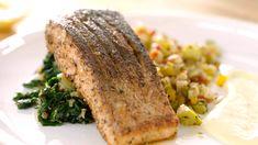 Аляскинский лосось с картофелем и овощами  - рецепт Гордона Рамзи