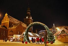 The Christmas spirit has visited Riga!