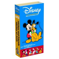 Provo Craft & Novelty Cricut Mickey and Friends Cartridge item 290382. Includes layers and shadows with icons and borders. $17.50